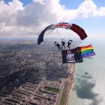 Brighton Pride & PWRR Tiger FreeFall Team