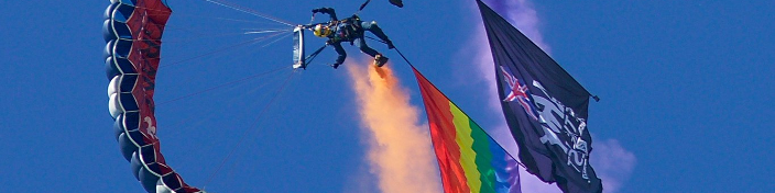 Brighton Pride & PWRR FreeFall Team